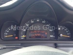 Mercedes C Class CDI Diesel Speedo Pod