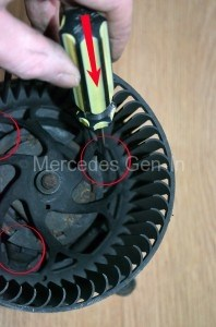 Mercedes Sprinter Blower Motor Assembly
