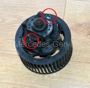 Mercedes Sprinter Motor Brushes