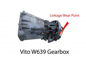 Mercedes Gearbox Wear Point W639