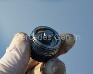 Mercedes Vito Gearbox Drain Plug Clean