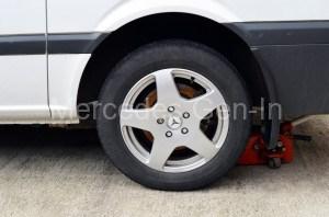 Vito Parking Brake Adjustment