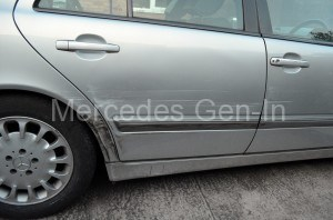 Mercedes W211 E320 CDI Impact Damage