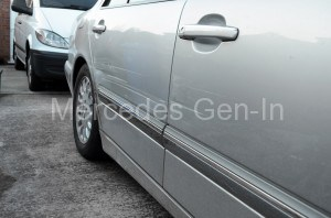 Mercedes W211 E320 CDI Side Impact Damage 2