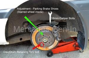 W639 Parking Brake