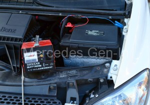 Correct Battery Charging Connection Mecredes Vito