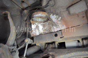 Mercedes E Class W210 Spring Turret Repair