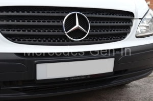 Mercedes Vito W639 Number Plate Frame