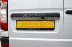 Mercedes Vito W639 Registration Plate Frame