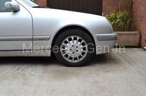 Spring Perch Repair Completed Mercedes E Class W210