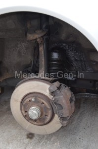 Welded Mercedes E Class W210 Front Spring Perch