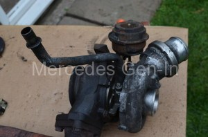 Mercedes Turbo Diesel Turbo Rebuild