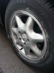 C200 tyre noise