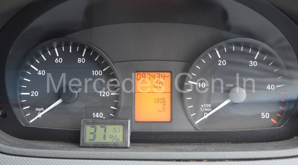 Service Indicator Reset Vito W639 111 (2008) - Mercedes Gen-In