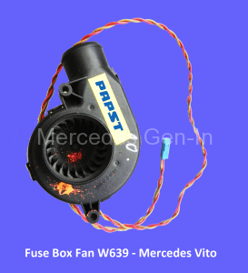 mystery fan noise inside cabin vito w639 rh mercedes gen in
