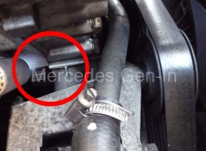 Mercedes R129 SL 320 (M104) Timing Cover Leak - Alternative Fix