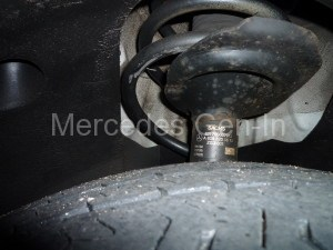 Mercedes w639 broken road spring