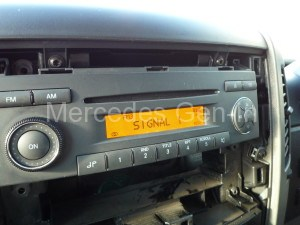 Radio Removal Mercedes Sprinter