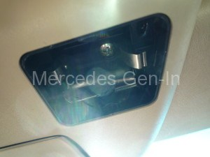 Mercedes SL LED dome light modification