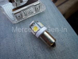 Mercedes SL R129 LED Dome Light Mod 2