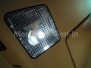 Mercedes SL R129 LED Dome Light Mod 13