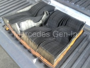 Dirty Sprinter Air filter