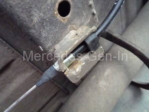 Mercedes Sprinter T1N Handbrake replacement