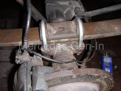 Sprinter (T1N) Rear Spring Replacement - Mercedes Gen-In