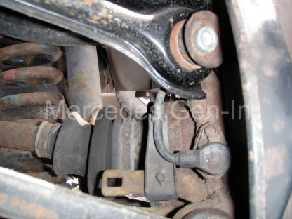 Mercedes SL (R129) ABS fault 3