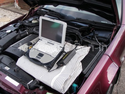 Mercedes SL (R129) ABS fault 1