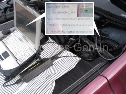 Mercedes Benz Code Reader