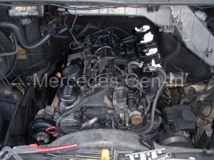 mercedes sprinter diesel engine removal and replacement t1n sprinter engine swap 1