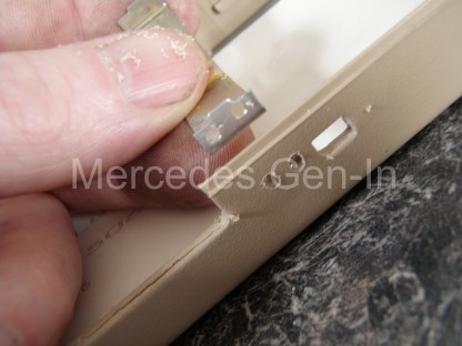 Mercedes SL (R129) Mirror Repair 5