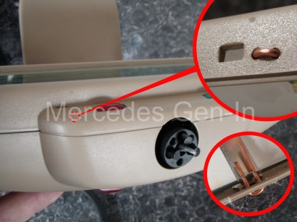 Mercedes SL (R129) Mirror Repair 8