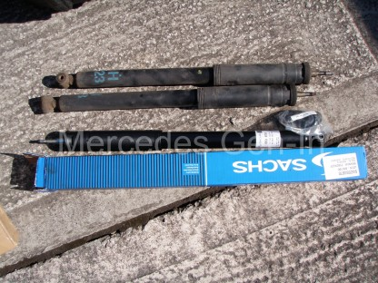 Mercedes C200 Rear damper replacement 1