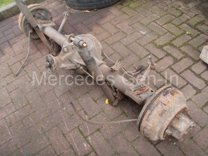 Ford Transit Twin Wheel Rear Axle Replacement - 5