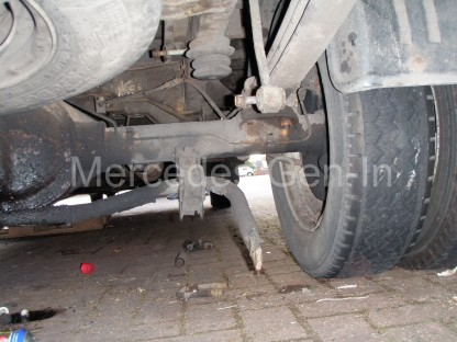 Ford Transit Twin Wheel Rear Axle Replacement - 6