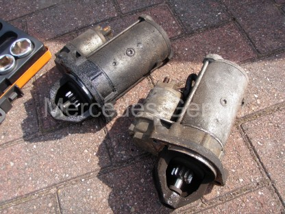 Sprinter Starter Motor Replacement 3