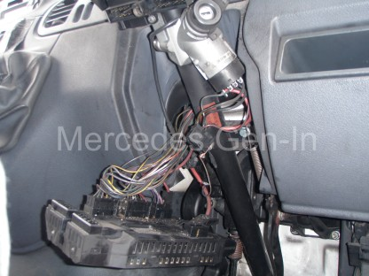 Mercedes Sprinter Steering Column Replacement 6