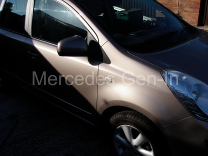 Nissan Note front door will not open from inside - Fix