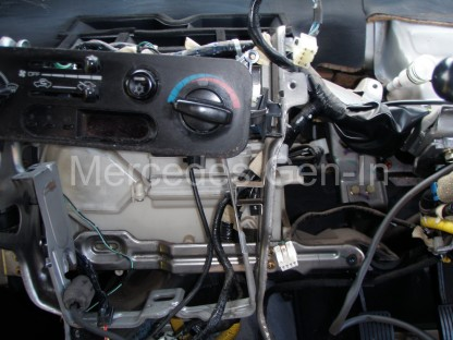 Mitsubishi L200 Heater Matrix replacement 19