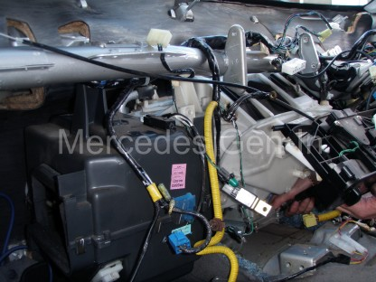 Mitsubishi L200 Heater Matrix replacement 24