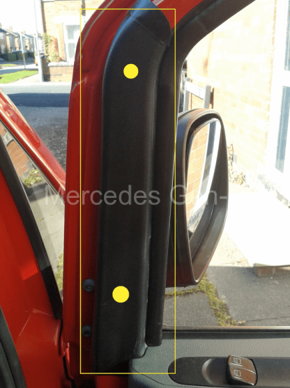 Mercedes Vito W639 Manual Door Mirror Replacement 1