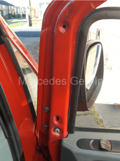 Mercedes Vito W639 Manual Door Mirror Replacement 3