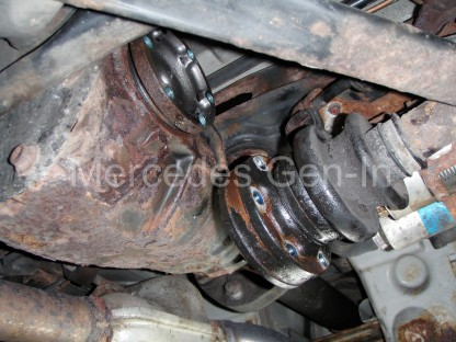 Mercedes ABS Fault - Reluctor ring replacement 3