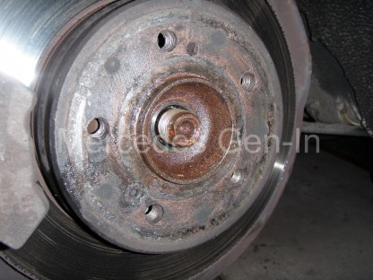 Mercedes SLK (R170) ABS Fault - Rear Reluctor Ring (Tone