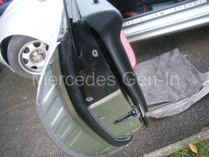 Mercedes SLK Central Locking Fix 5