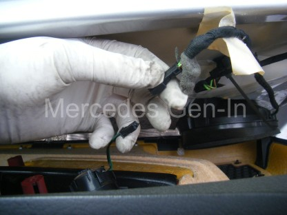 Mercedes SLK Central Locking Fix 10