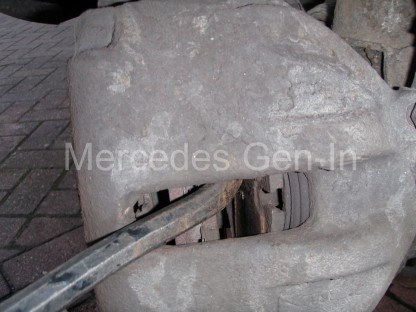 Mercedes Sprinter Front Brake Pad Replacement 5