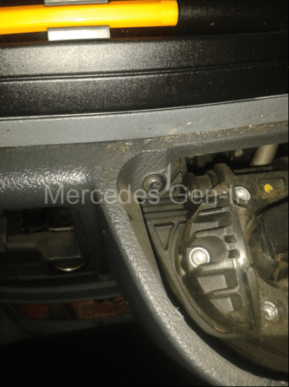 Mercedes Vito W639 Reverse Lamp Switch Adjustment 3
